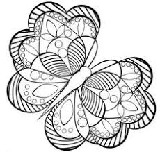 and print flower butterfly mandala coloring pages kids