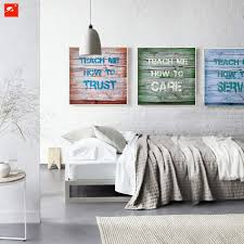 Bedroom Wall Art Words Compare Prices On Slogan Wall Art Online Shopping Buy Low Price