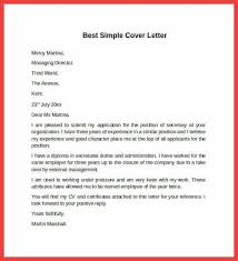 simple cover letter simple sle cover letter memo exle