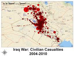 Map Iraq Wikileaks Iraq War Diary 2004 2009 Part 1 Freewheel Burning