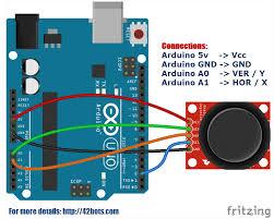 arduino joystick module example