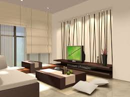 living room brown wooden low tv cabinet creative interior design