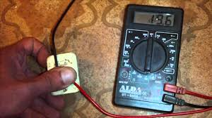 how to test a ptc relay fridge compressor starting relay youtube
