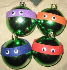 teenage mutant ninja turtle christmas ornaments addled