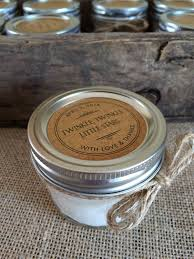 rustic wedding favor soy candle baby shower favor candle bridal