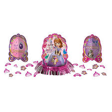 sofia the first table disney sofia the first table decorating kit wow let s party