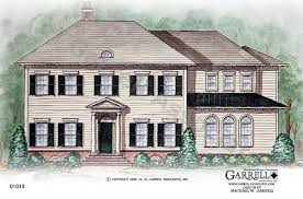 colonial style house plans normandy manor house plan classic revival plans