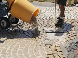 Sand Cement Mix For Patio How To Install A Patio Walkway How Tos Diy
