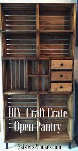 Wooden Storage Shelves Diy by Best 25 Crate Shelves Ideas On Pinterest Crates Bookshelf Diy