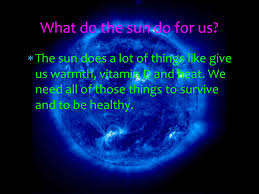 the sun by andrew and ppt