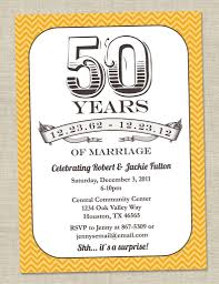 Golden Wedding Invitation Cards 50th Birthday Party Invitations For Her U2013 Gangcraft Net