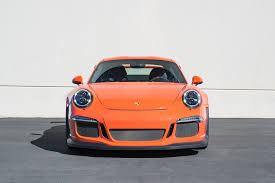 porsche orange 2016 porsche 911 gt3rs u2013 west coast exotic cars
