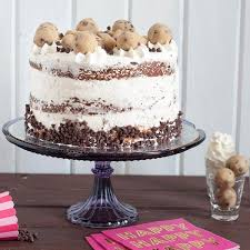 cookie dough ice cream cake goodie godmother a recipe and