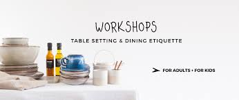 Dining Room Etiquette by Workshops