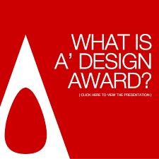 design award a design award and competition the award