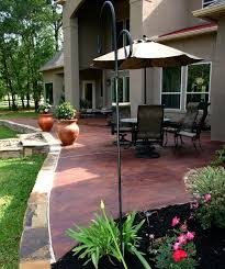 Concrete Stain Colors For Patios 46 Best Stain Patio Images On Pinterest Stained Concrete Patios