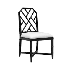 jardin black dining chair bungalow 5 collectic home