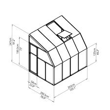 Palram Harmony 6 X 8 Rion Sunroom Kit 6 X 8 Clear Acrylic Panels Palram Greenhouse Store