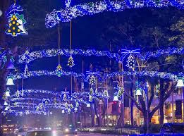 Christmas Decorations Tree Singapore by Christmas Lights Singapore Dresses Up Its Malls And Streets For