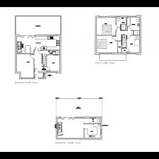 3 storey house plans 2d 3 storey house plans cadblocksfree cad blocks free