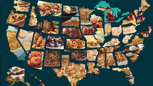 the most popular thanksgiving foods in all 50 states mapped