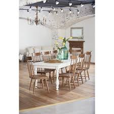 magnolia farms dining table magnolia home by joanna gaines farmhouse 9 piece dining white