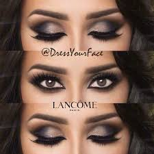 who wants a step by step tutorial for this look eye makeup is all