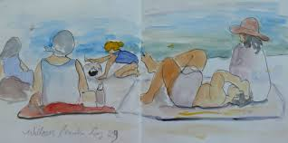 darlene young a painting a day willows beach sketches