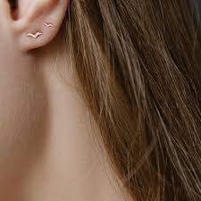 second earrings i would get a second ear piercing just for this clothes