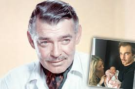clark gable clark gable u0027s grandson welcomes first child with girlfriend