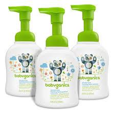 amazon com babyganics foaming hand soap fragrance free 8 oz