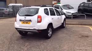 renault duster white dacia duster laureate dci white 2013 youtube