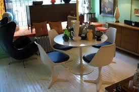 Dining Room Sets Dallas Tx Star Trek Burke Saarinen Dining Table U0026 Chairs An Orange Moon