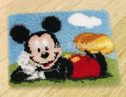 new 3d latch hook rug kits diy needlework unfinished crocheting