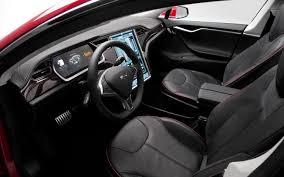 Tesla Interior Model S Motor Trend Names Tesla Model S As 2013 Car Of The Year Truck