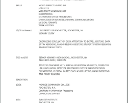 resume exles special education aide duties medical office specialist resume