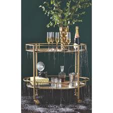 Home Decorators Colleciton by Home Decorators Collection Eliza Gold Bar Cart 7639900530 The