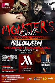 Halloween Monsters Pictures by G105 Monsters Ball Halloween Tickets The Raleigh Marriott City