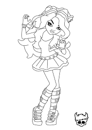 monster high clawdeen wolf coloring pages 68 best coloring pages images on pinterest coloring pages
