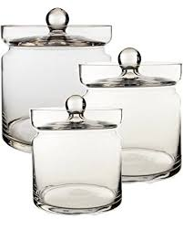 Candy Buffet Apothecary Jars by Amazon Com Apothecary Jar Set Of 3 H 8 5