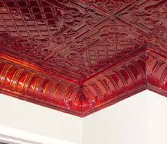 How To Put Up Tin Ceiling Tiles by Decorative Metal Cornices Put The Crowning Touch On Your New Ceiling