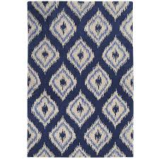 Modern Ikat Rug Floors Rugs Blue Ikat Rug For Modern Living Room