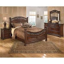 Rent Bedroom Set Rent To Own Ashley Leahyn 6 Piece Queen Bedroom Set