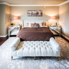 diy queen size daybed bedroom transitional with tan walls brown