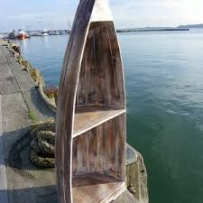 Nautical Bookcase Boat Bookcases From Dorset Gifts Boat Shaped Bookcases Rustic