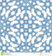 Moorish Design by Intricate Moorish Eastern Pattern Stock Vector Image 48522146