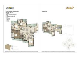 overview sun world vanalika sector 107 noida residential 3500 psf click to view floor plan