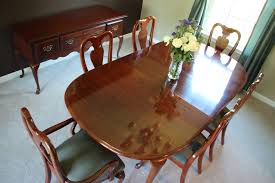 solid cherry wood american drew cherry grove 9 pc dining room set