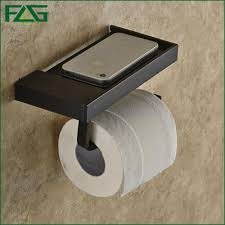 Toilet Paper Holder With Shelf Aliexpress Com Buy Flg Oil Rubbed Bathroom Paper Phone Holder