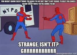 Meme Generator Spiderman - paradox spider man pointing at spider man know your meme